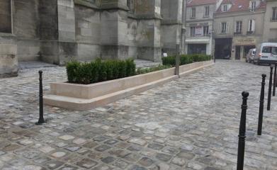 MEAUX (77) - Réaménagement et mise en valeur de l'esplanade de la Cathédrale 2012-2013 image 4