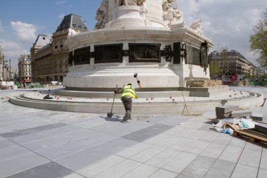 Statue - Place de la République - Mai 2013
