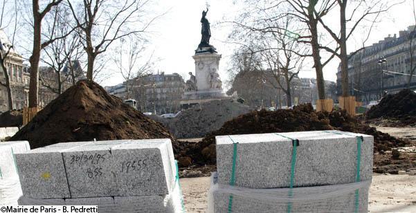 PARIS Place de la République