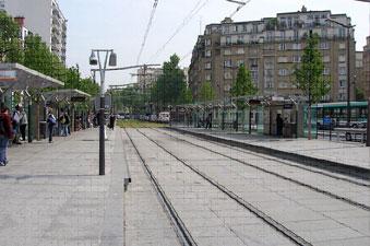 Tram des Maréchaux - PARIS 14-15 - 2006