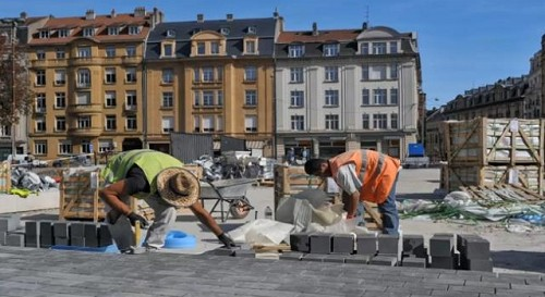 METZ - Mettis - Place de la Gare 2012