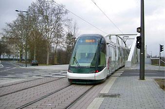 Le tramway de Strasbourg