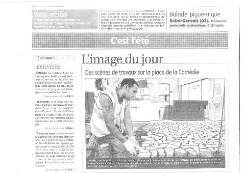 MONTLUCON - La Montagne - 06-08-2011