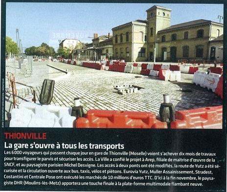 THIONVILLE - Le Moniteur 4-11-11