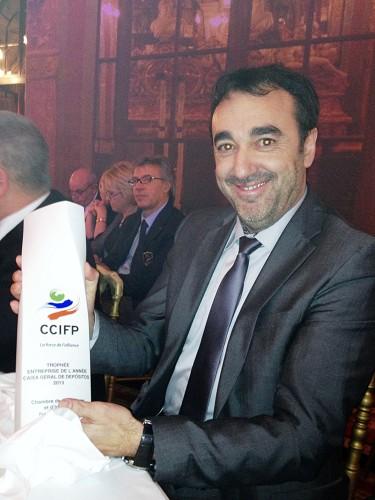 trophée CCIFP Entreprise de l'Année