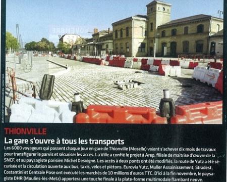 La presse en parle - Le Moniteur - 4 novembre 2011